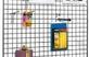 Hromēts sieta panelis-Gridwall 100x100