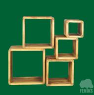 Ekspozīcijas kubu komplekts