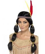 Indiāņu sievietes parūka