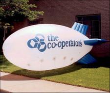 Dirižablis, reklāmas balons